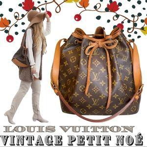 Authentic Vintage Louis Vuitton Monogram Petit Noé
